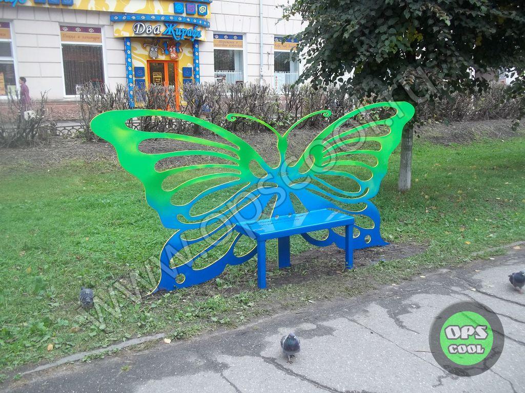 Арт объект Бабочка г. Иваново