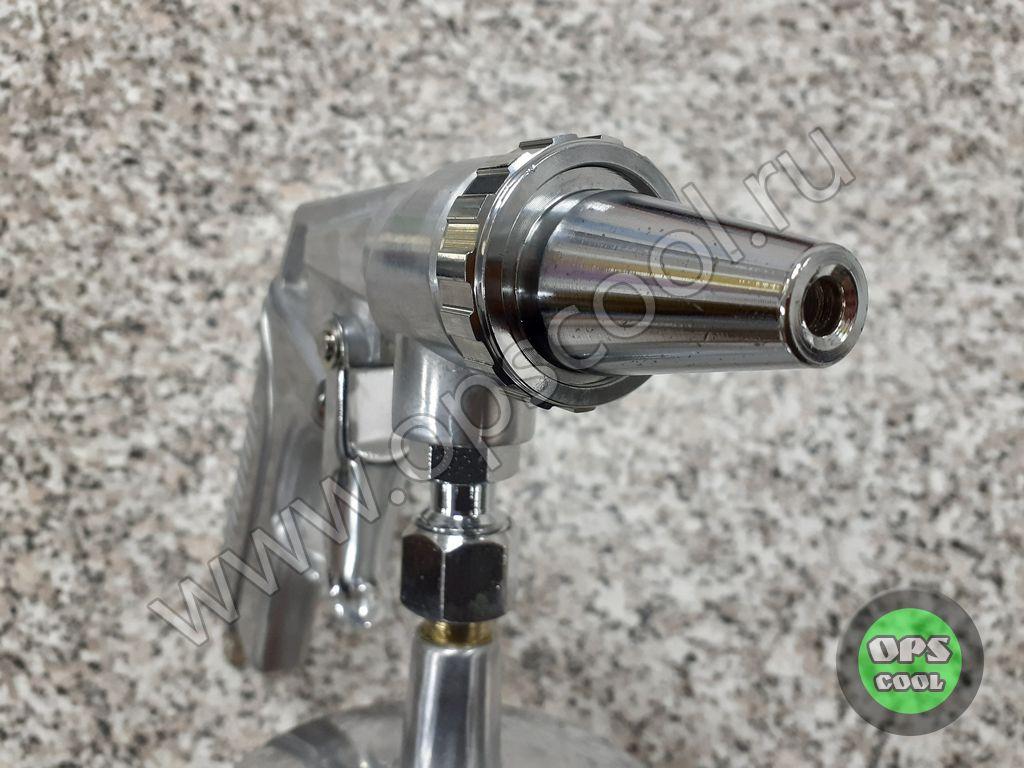 Пескоструйный пистолет с нижней подачей