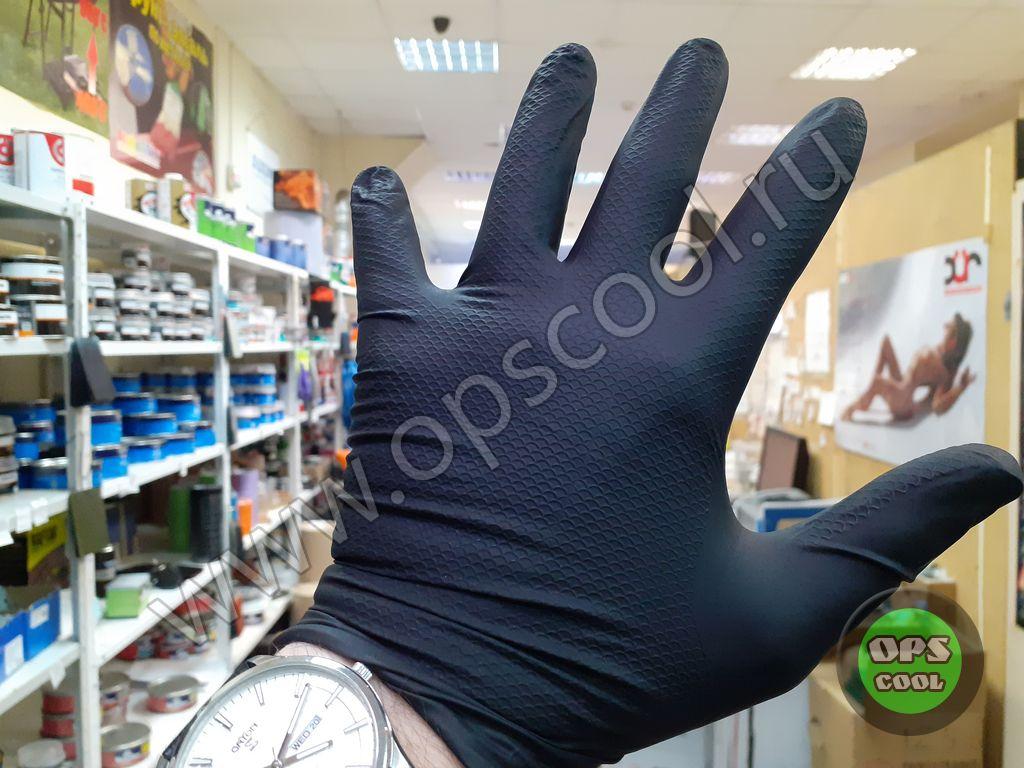 Перчатки нитриловые Jeta Safety JSN NATRIX
