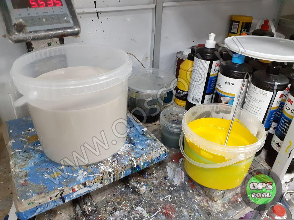Краска для кран балки