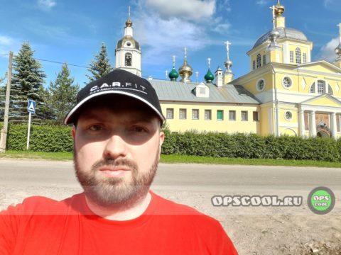 Олег Николаев. Краска на купола