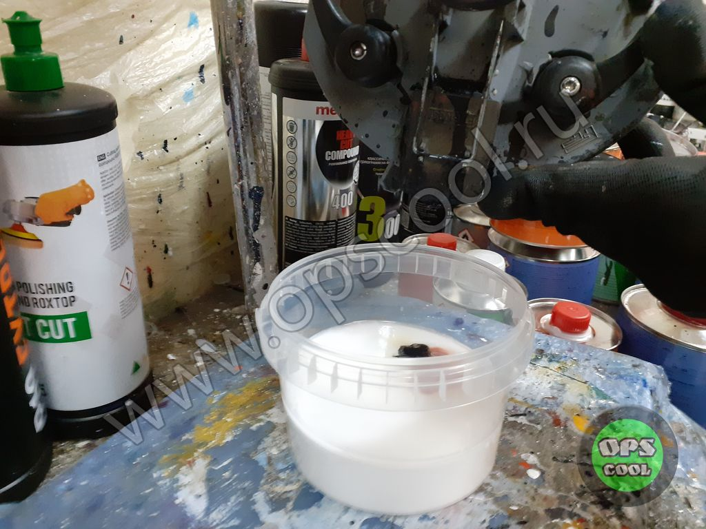 Полиуретановая краска RAL 7047