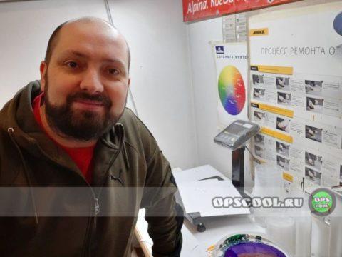Олег Николаев - полиуретановая краска для станка