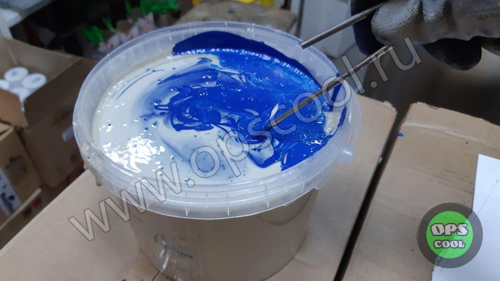 Эпоксидная краска для токарного станка