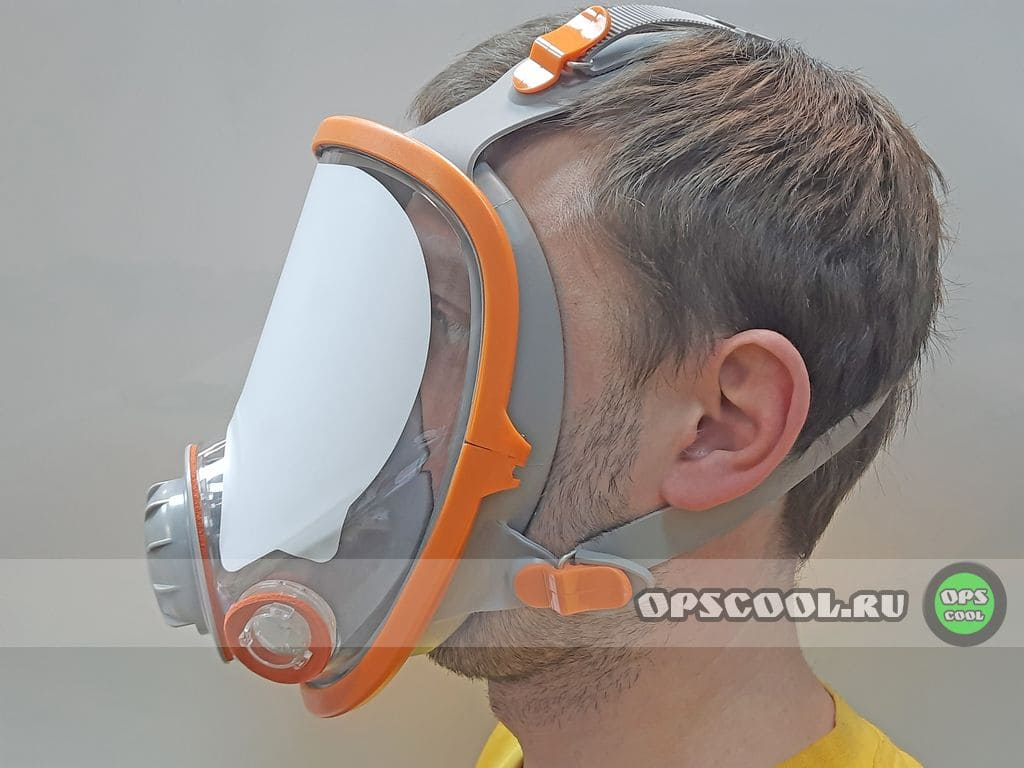 Полнолицевая маска JetaPro, аналог 3М 6800