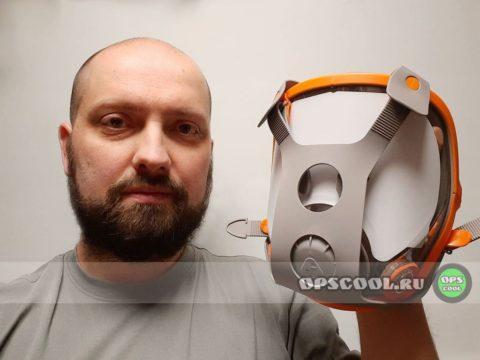 Олег Николаев. Полнолицевая маска