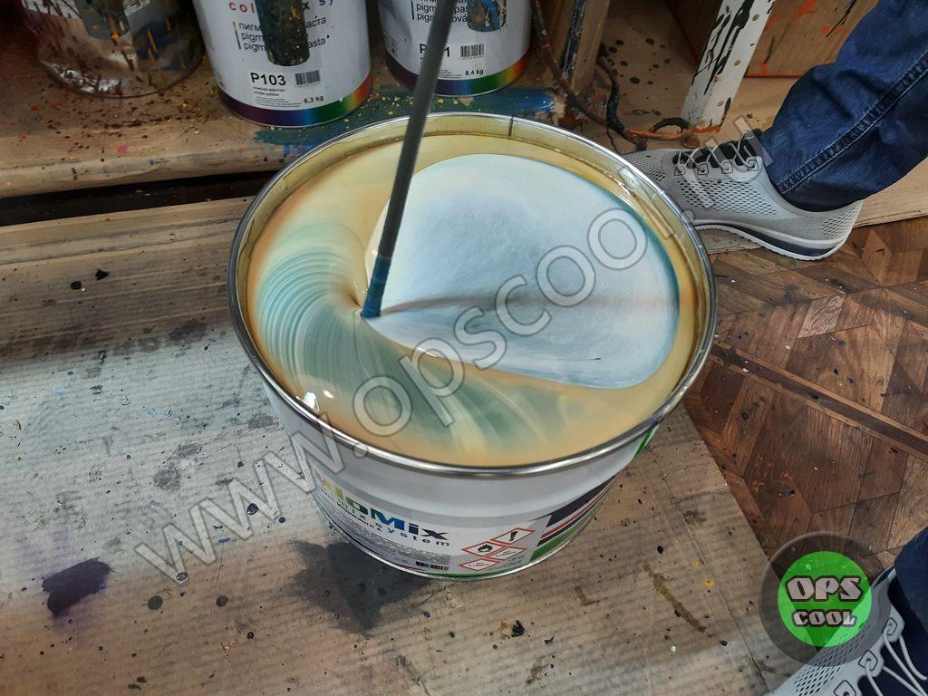 Алкидная краска для металла