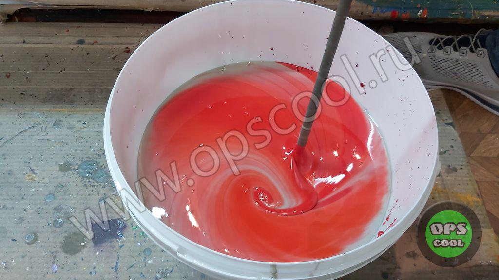 Полиуретановая краска для подъемника
