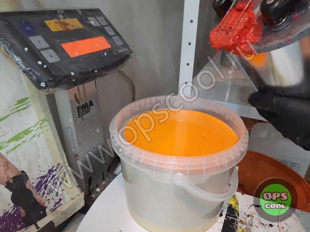 Краска на экскаватор-погрузчик JCB