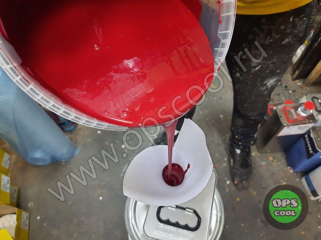 Полиуретановая краска на Ниву