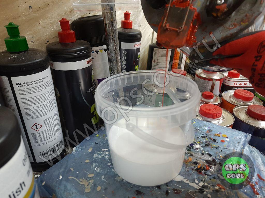 Полиуретановая грунт-эмаль на кабину