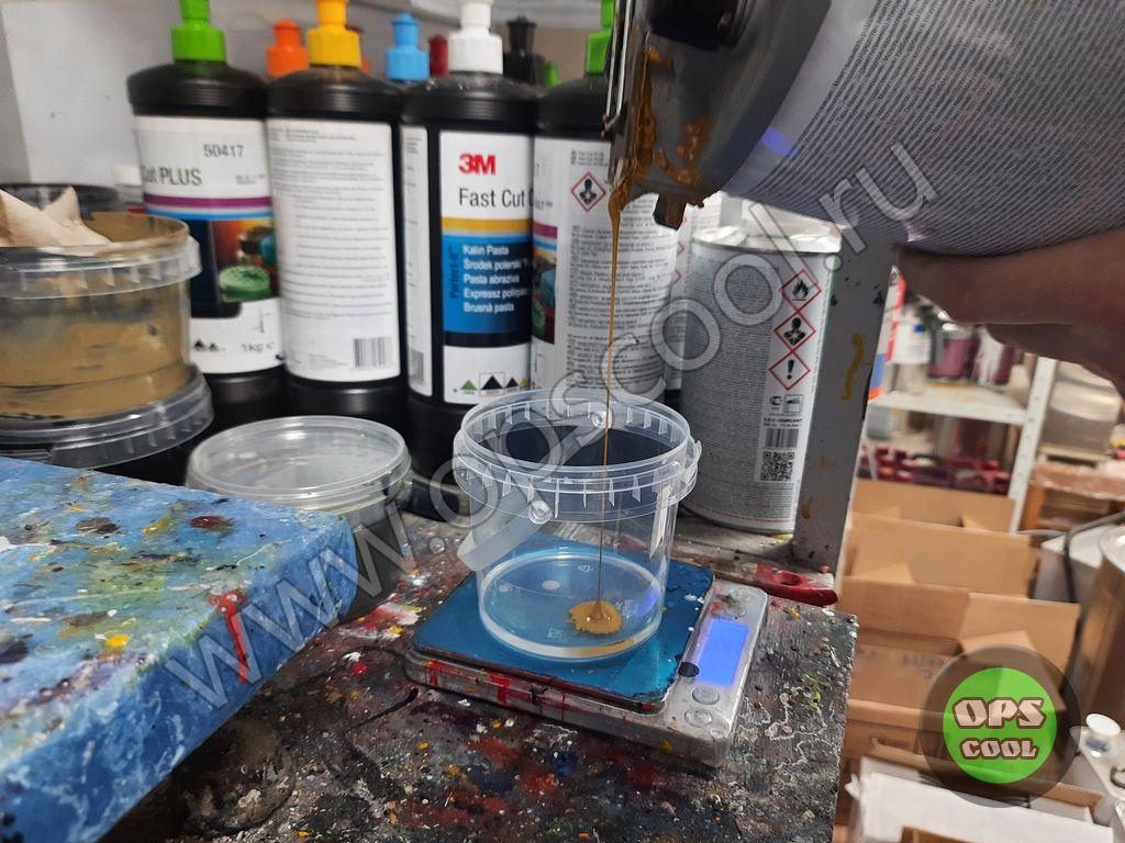 Полиуретановая краска для элементов декора