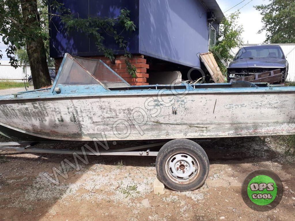 Покраска лодки эпоксидной эмалью